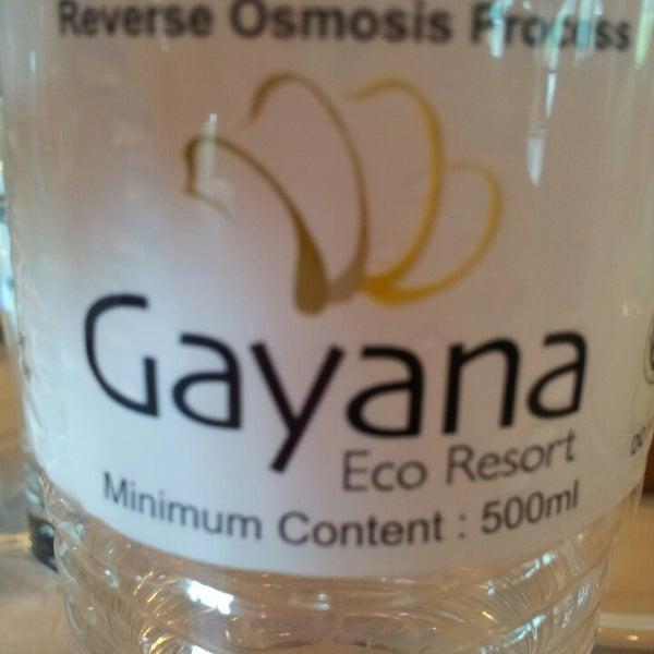 Photo taken at Gayana Eco Resort by May-May J. on 6/27/2014