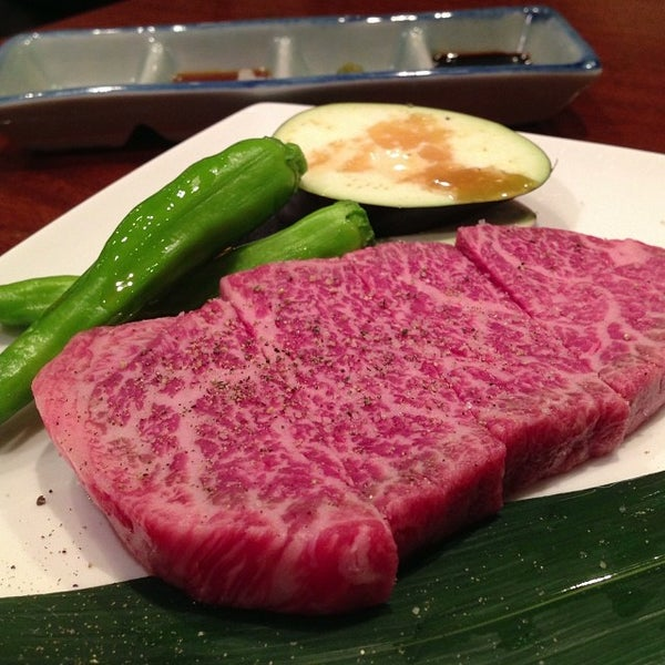 10/14/2013にKeikoがびーふてい 中目黒店で撮った写真