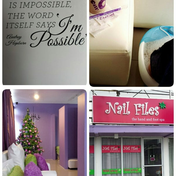 Nail Files - Nail Salon in Pasig City
