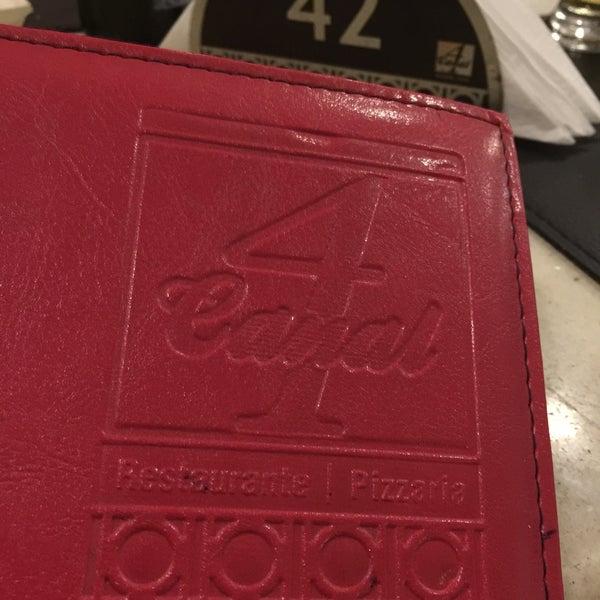 Photo taken at Canal 4 Restaurante e Pizzaria by Cynthia S. on 12/31/2016