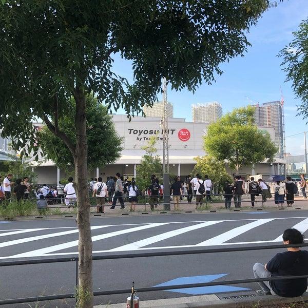 9/23/2018に柚人がチームスマイル・豊洲PITで撮った写真