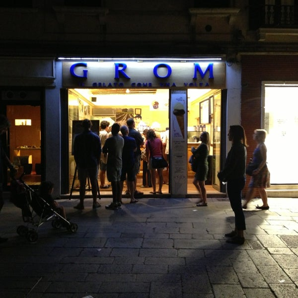 Photo taken at Grom by Taylor on 9/4/2013