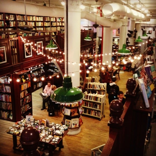 Photo taken at Housing Works Bookstore Cafe by chris w. on 12/15/2012