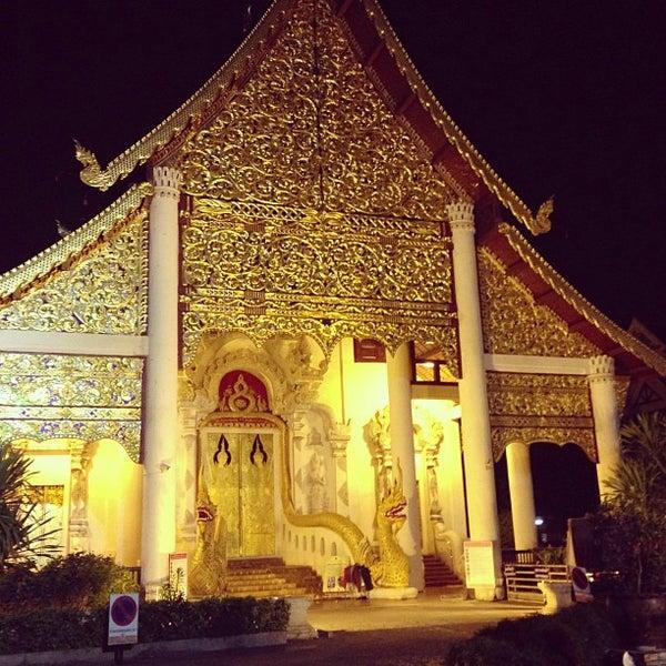 Photo taken at Wat Chedi Luang Varavihara by Ballaby M. on 2/25/2013