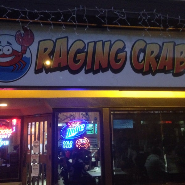 Photo taken at Raging Crab by Russell S. on 1/1/2015