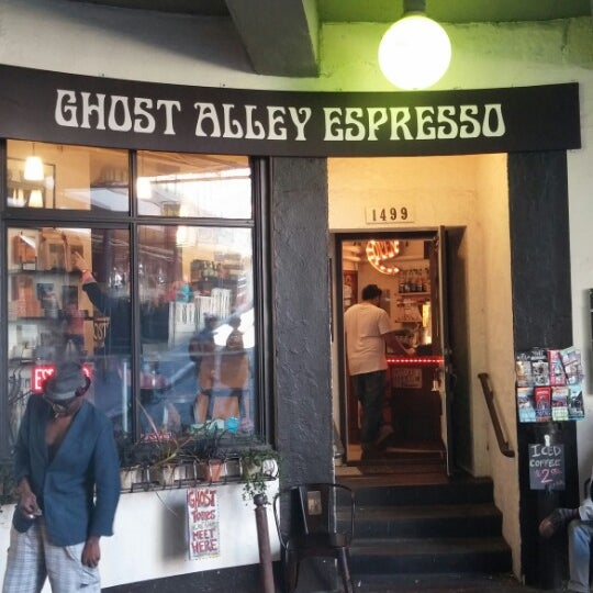 Photo taken at Ghost Alley Espresso by Jason B. on 4/13/2014