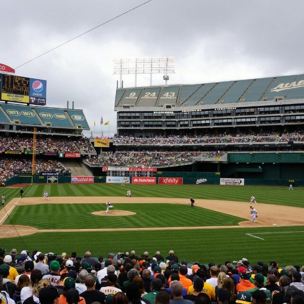 Photo taken at O.co Coliseum by Mark on 5/28/2013
