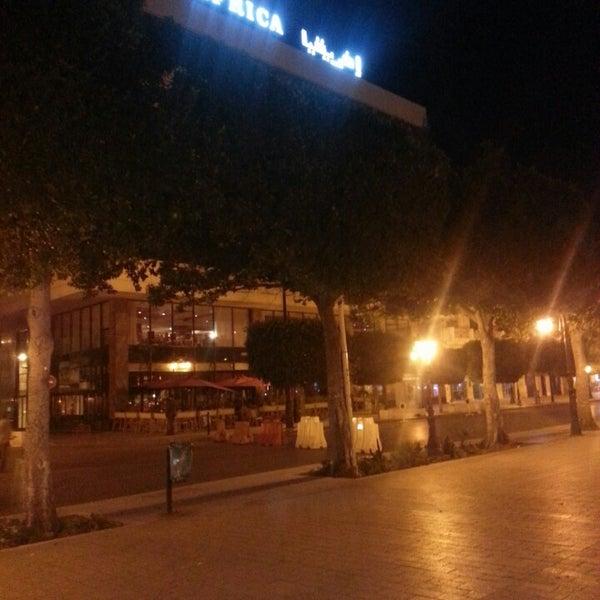 Photo taken at Avenue Habib Bourguiba by Seifeddine O. on 9/9/2014