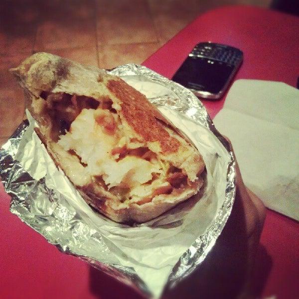 Photo taken at Burrito Boyz by Inez P. on 10/8/2012