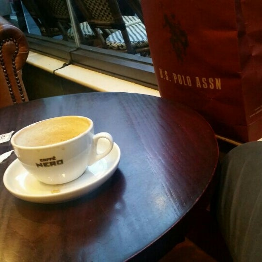 Photo taken at Caffè Nero by EroL D. on 11/4/2015