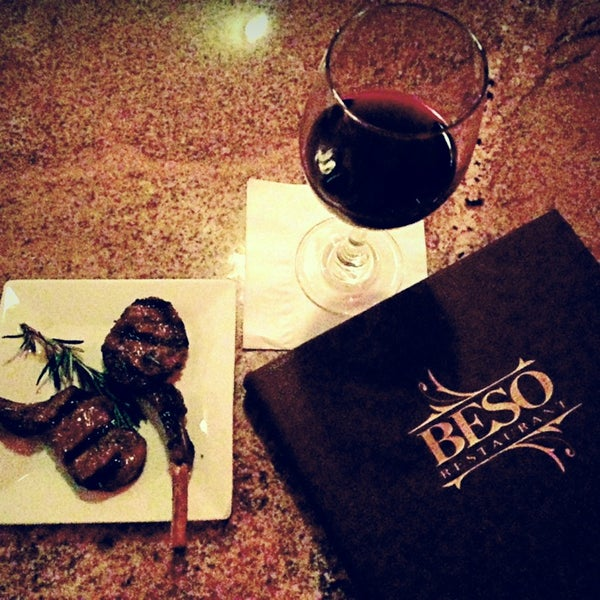 Photo taken at Beso by Foods of the World Tour on 5/23/2014