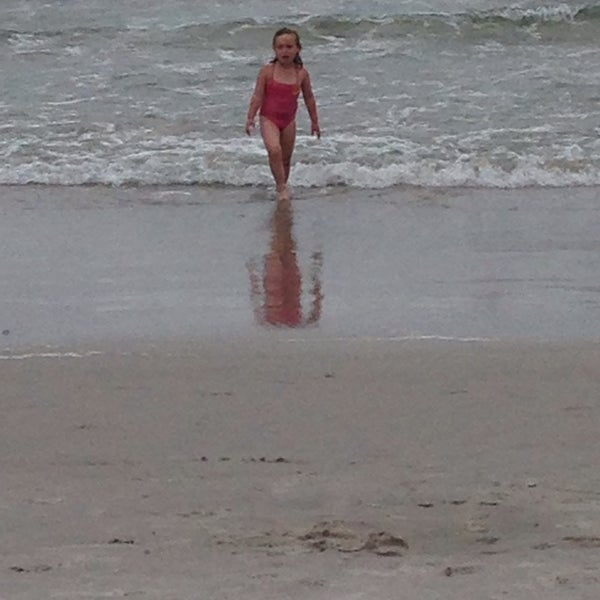 Photo taken at East Atlantic Beach by jen C. on 8/31/2014