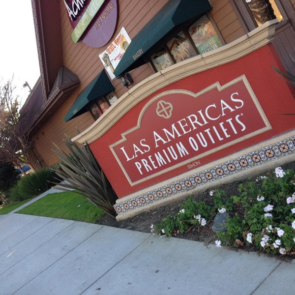 Outlet las americas coupons