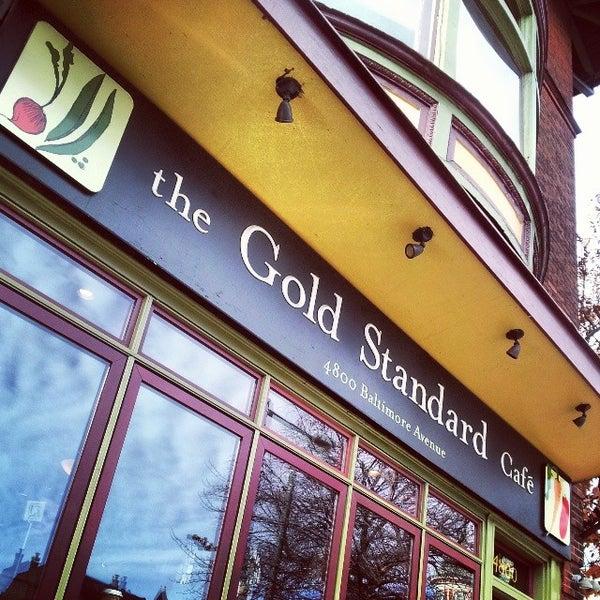 Photo taken at Gold Standard Cafe by Olivia O. on 11/23/2013