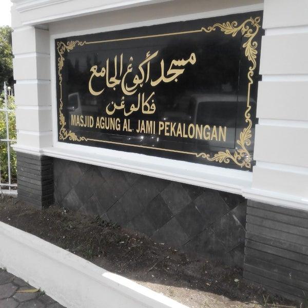 Photo taken at Masjid Jami' Kauman Pekalongan by Imam S. on 6/19/2014