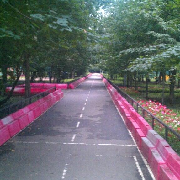 Снимок сделан в Щемиловский детский парк пользователем Dmitry D. 7/23/2013