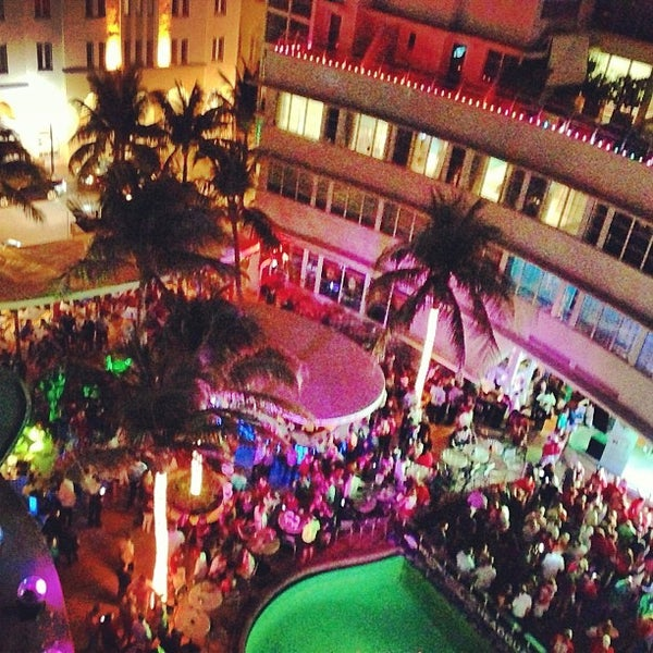 Photo taken at Clevelander South Beach Hotel and Bar by @MaxJCrowley on 1/8/2013