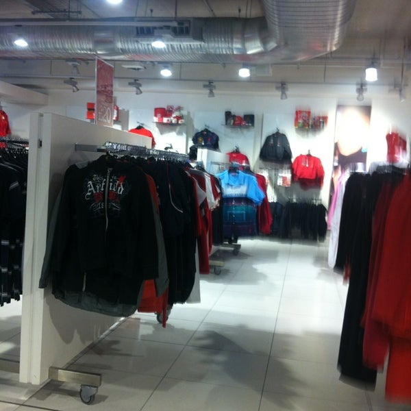 Photo taken at Liverpool FC Official Club Store by Lee O. on 1/6/2013