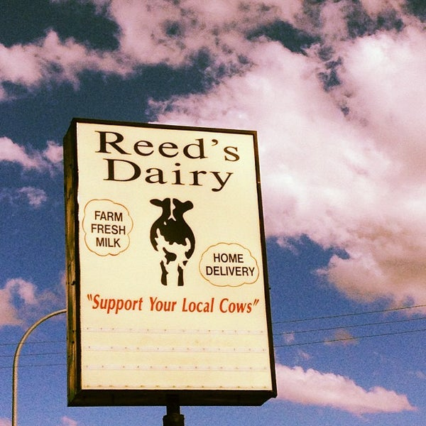 Photo taken at Reed's Dairy Inc. by Priscilla @. on 10/5/2013