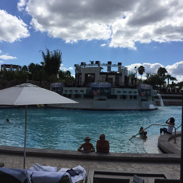 Photo taken at Marriott World Center Pool by Dana G. on 10/20/2016