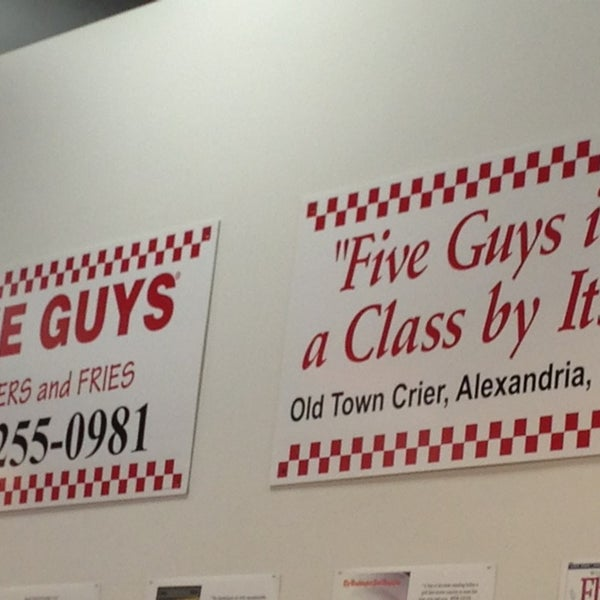Photo taken at Five Guys by Jere on 3/30/2013