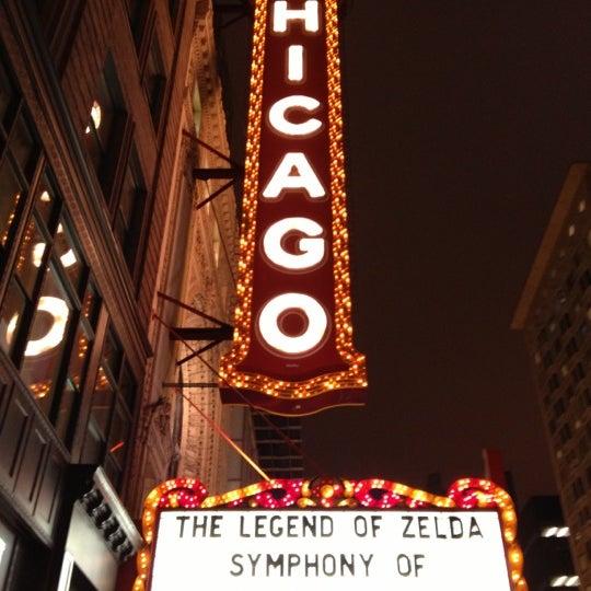 10/26/2012에 Seth H.님이 The Chicago Theatre에서 찍은 사진