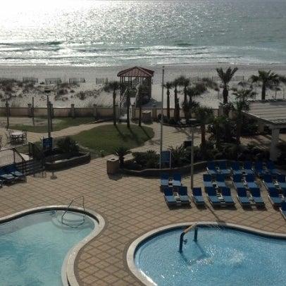 Photo taken at Hilton Pensacola Beach by Erran Y. on 1/19/2013