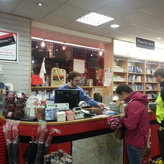 Photo taken at Foyles by Vinay S. on 12/30/2012