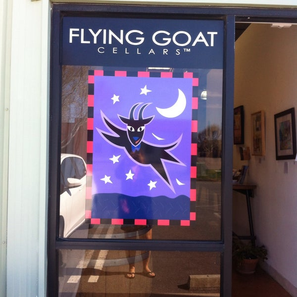 Photo taken at Flying Goat Cellars Tasting Room by Metro Bear on 2/20/2016