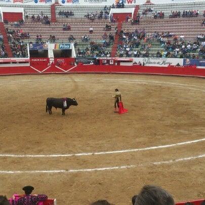 Foto tomada en Plaza de Toros Nuevo Progreso por Ivan G. el 11/5/2012