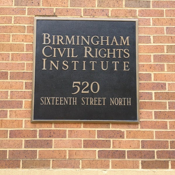 Photo taken at Birmingham Civil Rights Institute by Andre P. on 8/2/2013