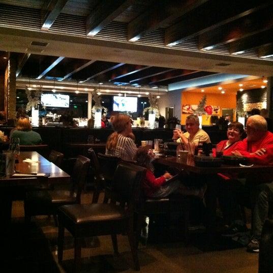 Photo taken at Tartini Pizzeria & Spaghetteria by Susan D. on 12/16/2012