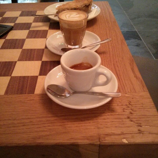Photo taken at Espresso Embassy by Ferenc B. on 3/15/2013