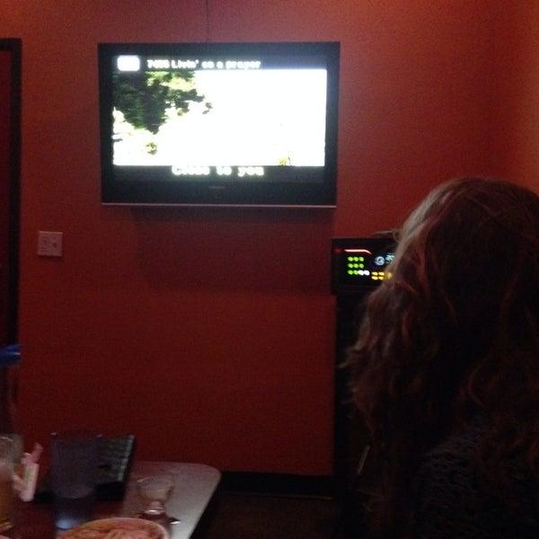 Photo taken at Chorus Karaoke and Cafe by Chris C. on 12/20/2013
