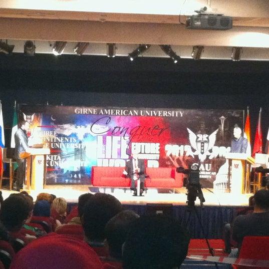 Снимок сделан в Girne American University пользователем Ismail Y. 12/13/2012