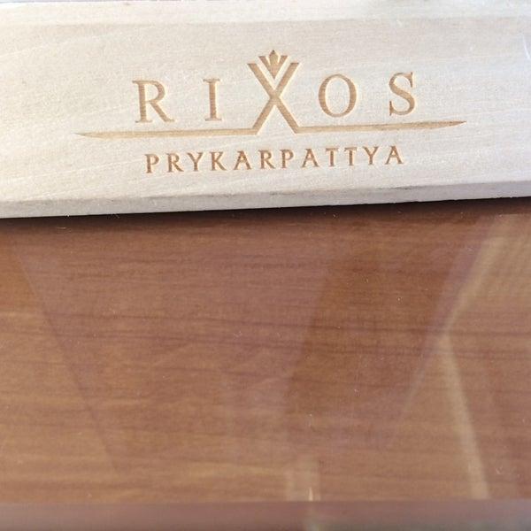Снимок сделан в Rixos Prykarpattya пользователем Alexander K. 6/8/2014