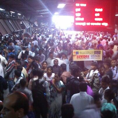 Photo taken at Dadar Railway Station by NayAnesh G. on 1/3/2013