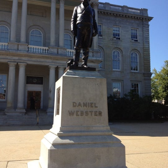 Photo taken at New Hampshire State House by Evan G. on 9/17/2012