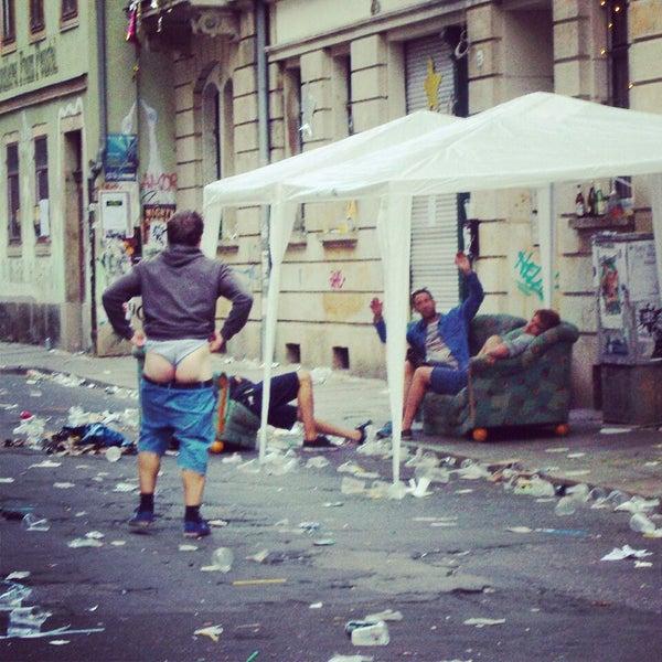 Photo taken at BRN - Bunte Republik Neustadt by Seva G. on 7/7/2014