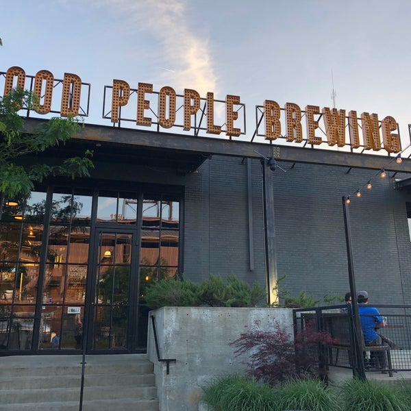 Photo taken at Good People Brewing Company by Tim S. on 4/20/2018