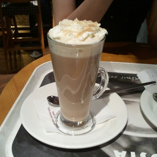 Photo taken at Costa Coffee by John T. on 11/15/2012