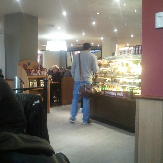 Photo taken at Costa Coffee by John T. on 12/4/2012