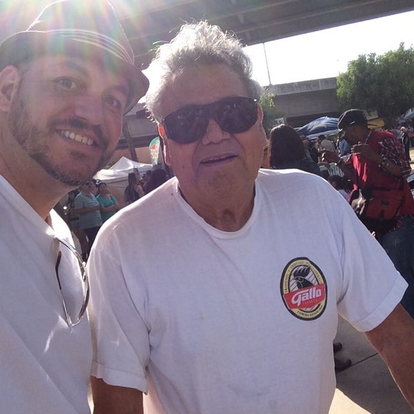 Photo taken at Chicano Park by Patrick P. on 4/19/2014
