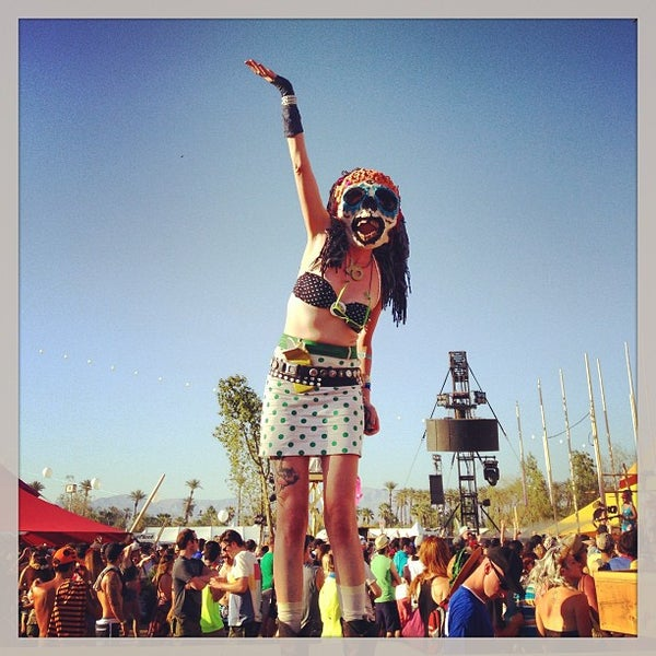 Photo taken at Coachella Valley Music and Arts Festival by Jorge R. on 4/21/2013