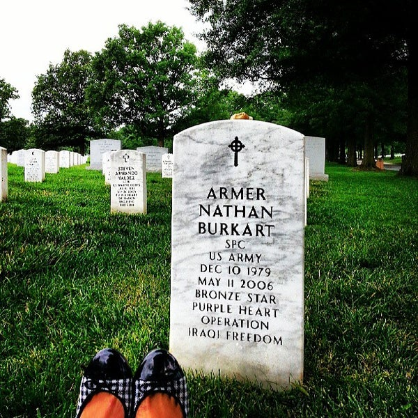 Photo taken at Arlington National Cemetery by K Z. on 6/19/2013