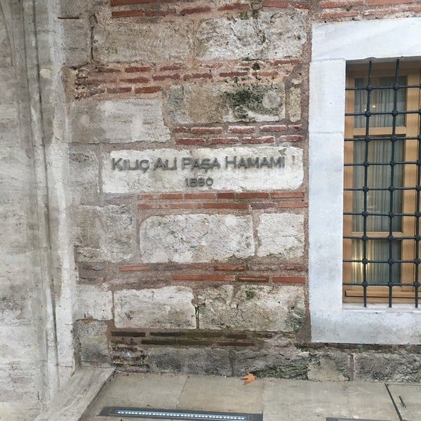 1/15/2017 tarihinde Zeynep C.ziyaretçi tarafından Kılıç Ali Paşa Hamamı'de çekilen fotoğraf