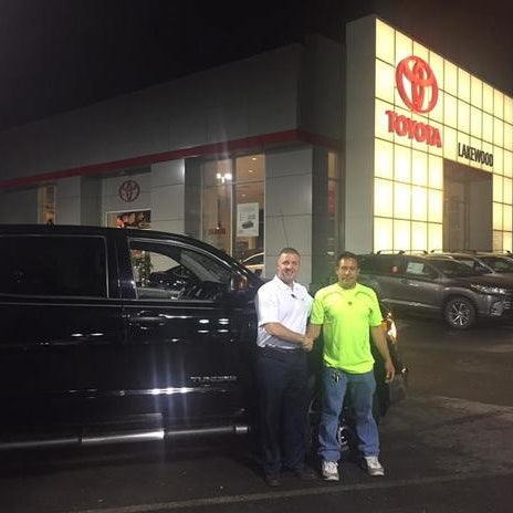 Photo Taken At Toyota World Of Lakewood By Yext Y. On 8/9/