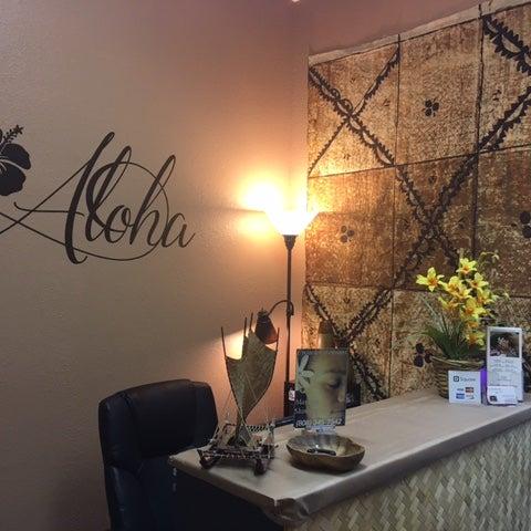 "Photo taken at Ka Lima Hana Kukui ""Hawaiian Massage Therapy"" by Yext Y. on 4/25/2017"