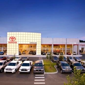 Gatorland Toyota Auto Dealership