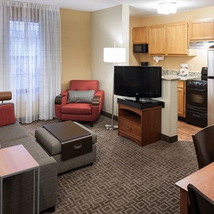 Photo taken at TownePlace Suites Dallas Las Colinas by Yext Y. on 5/21/2016